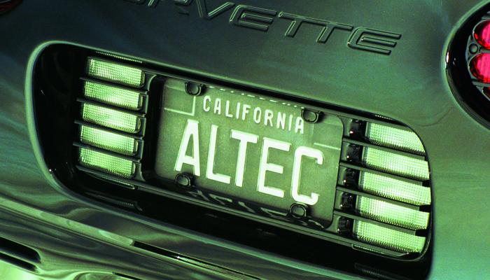 C7 Corvette Stingray License Plate Frames.html | Autos Weblog