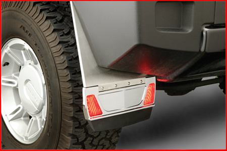 Rear Mud Flaps (With LED Lighting)
