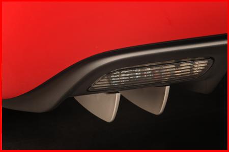 Corvette Rear Aero Diffussers